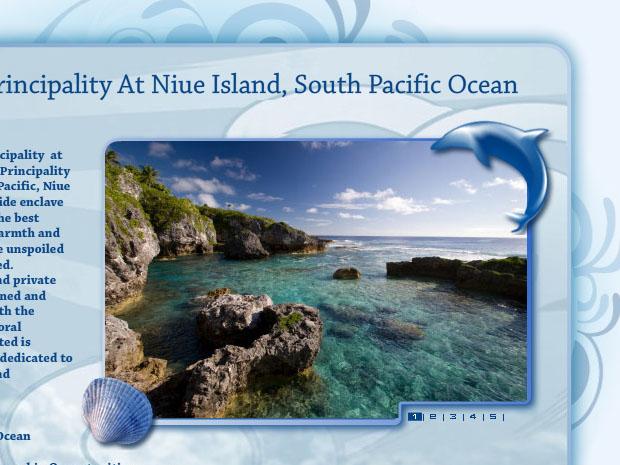 Niue Landing Page