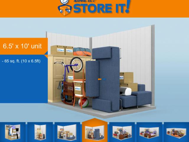 3D Storage Control