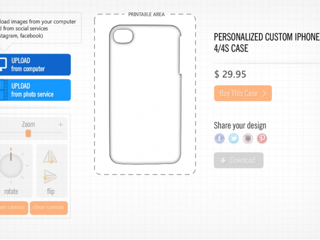 Phone Case Designer